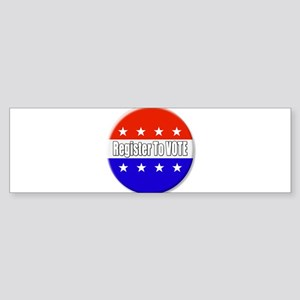 Register To Vote Bumper Sticker